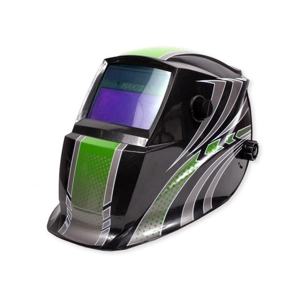 Маска сварщика HAKIS DRIVE GREEN  DIN4/9-13