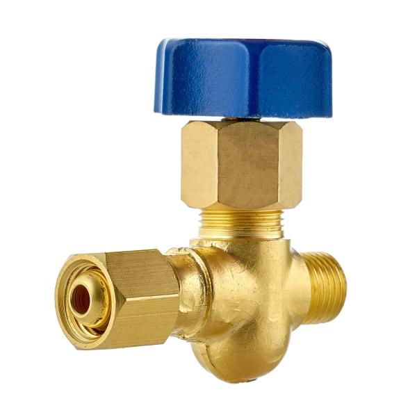 Вентиль кислородный для установки на газовый коллектор
